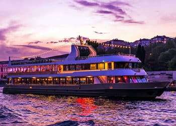 Dinner Cruise on Bosphorus Night Tour