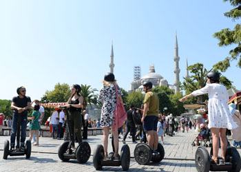 Istanbul Segway Tour Afternoon Old City  Segway Tour