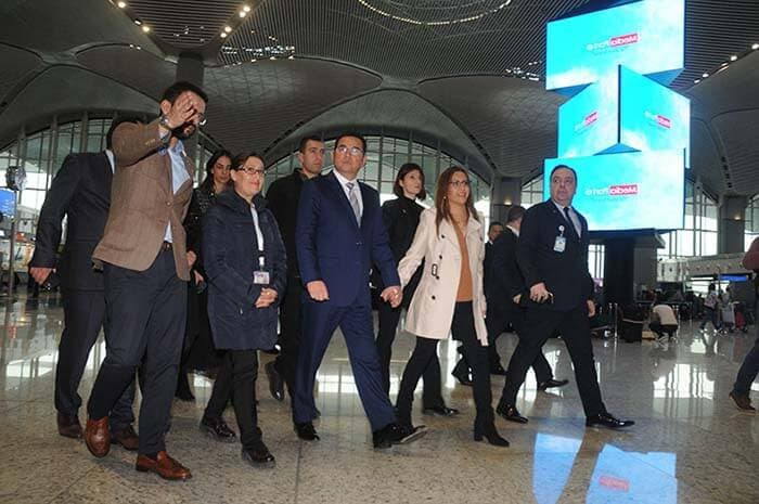 Guatemala's president 'amazed' by the New Istanbul Airport